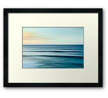 North Shore Sunset Framed Print