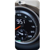 Chronograph iPhone Case/Skin