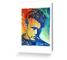 A landscape or James Dean Greeting Card