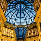 Vittorio Emanuele Shopping Gallery in Milan, ITALY by Bruno Beach