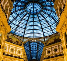 Vittorio Emanuele Shopping Gallery in Milan, ITALY by Atanas Bozhikov NASKO