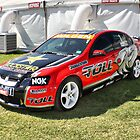 VE Commodore At The Clipsal 500 by Russell  Burgess
