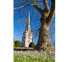 Painswick Church, The Cotswolds, England Photographic Print