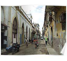 typical street in Havana Poster