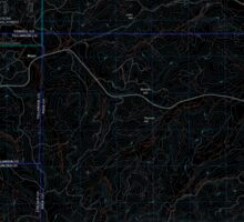 USGS Topo Map Oregon Midway 20110810 TM Inverted Sticker