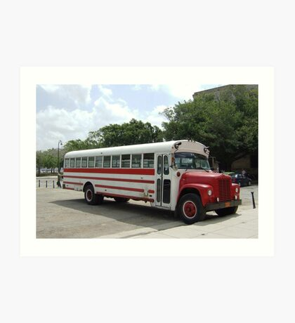 old bus Art Print