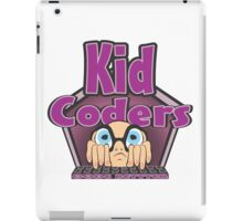 Kid Coders Code Better  iPad Case/Skin