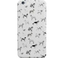 Dogs & Polka Dots iPhone Case/Skin