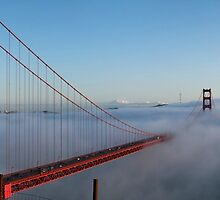 Golden Gate Bridge — Colour by Alex Eckermann