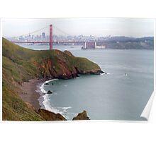 Golden Gate Bridge & Bay Poster