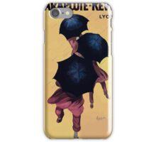 Leonetto Cappiello Affiche Parapluies Revel iPhone Case/Skin
