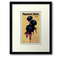 Leonetto Cappiello Affiche Parapluies Revel Framed Print