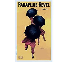 Leonetto Cappiello Affiche Parapluies Revel Photographic Print