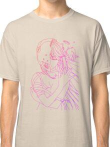 elfen lied lucy lineart coloring anime manga shirt Classic T-Shirt
