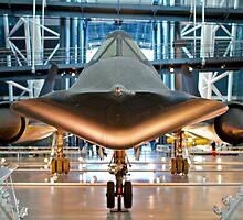 SR-71 Blackbird by Alex Eckermann