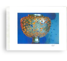 """Mineral art """"Underwater Dreams"""" graces the DVD cover. Canvas Print"""