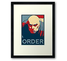 The Legend of Korra - Zaheer Framed Print