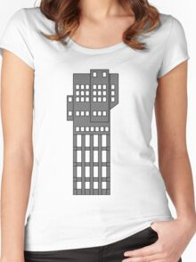 ZTower Women's Fitted Scoop T-Shirt