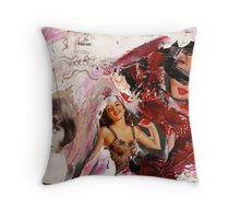 Miss size D, 2011 Throw Pillow