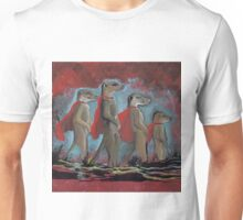 Super Hero Meerkats Assemble! Unisex T-Shirt
