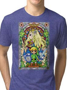 The Legend of Zelda: Wind Waker Tri-blend T-Shirt