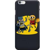Batfinn and Robjake iPhone Case/Skin