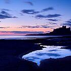 Bamburgh Castle - Pre Dawn by Dave Lawrance