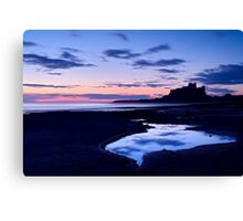 Bamburgh Castle - Pre Dawn Canvas Print