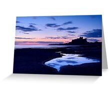 Bamburgh Castle - Pre Dawn Greeting Card