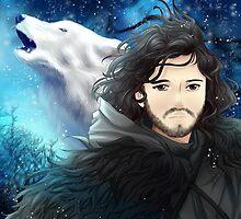 anime jon snow  by runawaywithyou