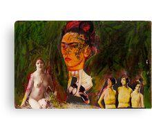 Frida, 2011 Canvas Print