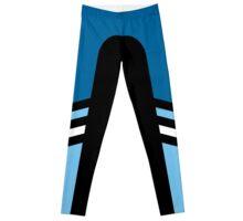 Two Blue Two Stripe Leggings