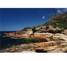Rocky Coastline, Freycinet National Park, Tasmania Photographic Print