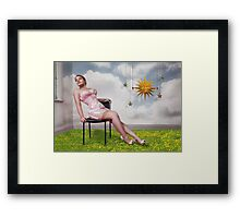 Stars In The Clouds Framed Print