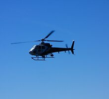 Police Helicopter at the Sinking of Adelaide by Matt-Dowse