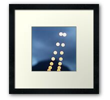 Guiding Lights Framed Print
