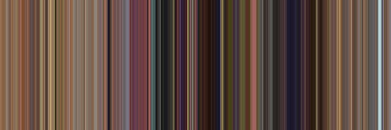 Moviebarcode: Toy Story (1995) [Simplified Colors] by moviebarcode