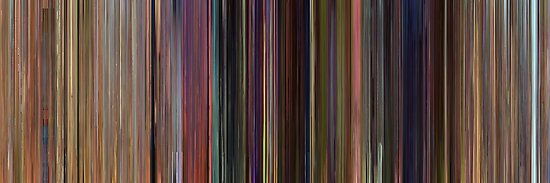 Moviebarcode: Toy Story (1995) by moviebarcode