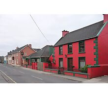 Dingle town in the off season Photographic Print