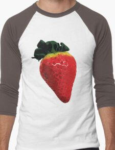 Delicious strawberry Men's Baseball ¾ T-Shirt