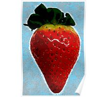 Delicious strawberry Poster