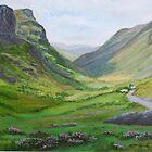 Glencoe,Scotland by Geraldine M Leahy