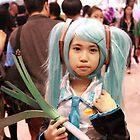 Chibi Hatsune Miku by jeanricafort