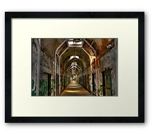 A Lonely Walk Framed Print