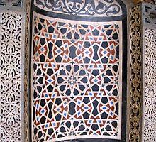 Mosaic Tiles - Coptic Church by Marilyn Harris