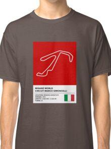 Misano World Circuit Marco Simoncelli - v2 Classic T-Shirt