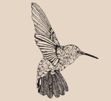 Hummingbird by bronterebecca