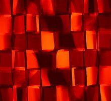 Christmas concept red background with vibrant colour tones by Atanas Bozhikov NASKO