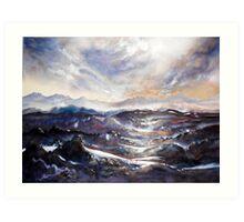 Mountain Atmosphere Art Print
