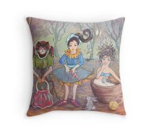 Childhood Stage Throw Pillow